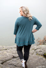 Load image into Gallery viewer, Play Me A Little Tunic  Top In Teal