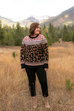 Load image into Gallery viewer, Geometric Jungle Sweater In Jacquard