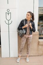 Load image into Gallery viewer, Pink Leopard Joggers