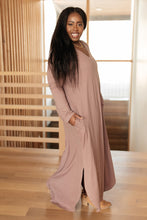 Load image into Gallery viewer, The Melanie Maxi Dress in Mauve