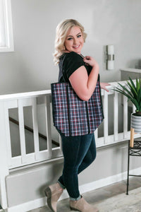 The Be All, Catch All Bag In Tartan