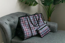 Load image into Gallery viewer, The Be All, Catch All Bag In Tartan