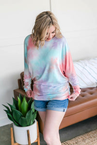 Northern Lights Dolman Sleeve Top