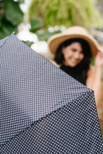 Load image into Gallery viewer, April Showers Polka Dot Umbrella