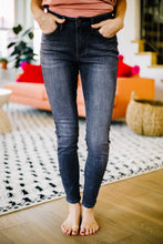 Load image into Gallery viewer, Black Gold High Waist Jeans