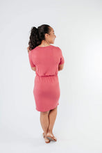 Load image into Gallery viewer, Cute Comfort Dress In Terracotta