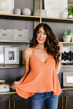 Load image into Gallery viewer, Daisy Woven Cami In Coral