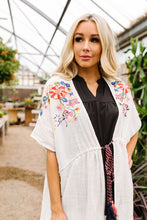 Load image into Gallery viewer, Divine Embroidered Kimono