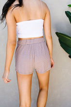 Load image into Gallery viewer, Give Me A Mocha Striped Shorts