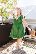 Load image into Gallery viewer, Kiwi Ruffles Dress
