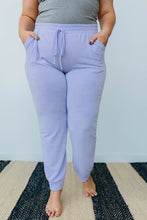 Load image into Gallery viewer, Lounging In Color Joggers In Lavender