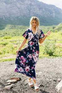 Nighttime Garden Stroll Maxi Dress