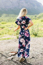 Load image into Gallery viewer, Nighttime Garden Stroll Maxi Dress