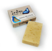 Load image into Gallery viewer, Oatmeal Milk & Honey Natural Soap Bar