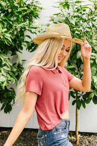 Ribs Cropped Polo