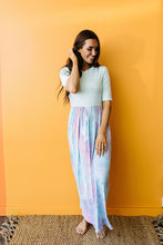 Load image into Gallery viewer, Santa Ana Tie Dye Maxi In Mint