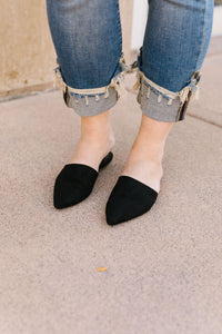 Suede In The Shade Mules