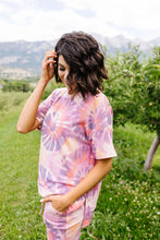 Load image into Gallery viewer, Swirly Tie Dye Lounge Top