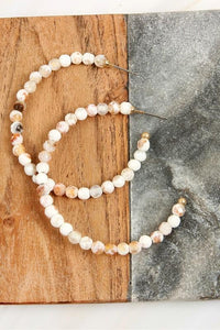 To Bead Or Not To Bead Hoops In Natural Stone