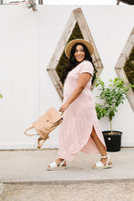 Load image into Gallery viewer, To The Max Striped Maxi In Blush