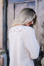 Load image into Gallery viewer, Topped With Lace Furry Sweater