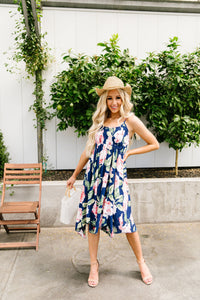 Tropical Fever Midi Dress
