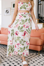 Load image into Gallery viewer, Tropical Fever Skirt In Ivory