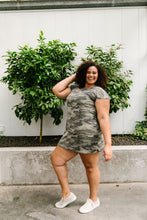 Load image into Gallery viewer, Watch Your Back Camo Dress