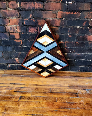 Medium Reclaimed Wood Diamond