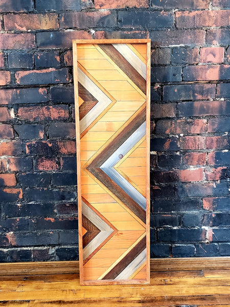 Large Reclaimed Wood Wall Art
