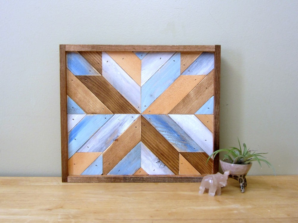 Reclaimed Wood Quilt Square
