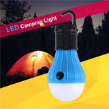 Portable 3 LED Lantern Tent Light Bulb for Camping Hiking Fishing Emergency Battery Powered Light