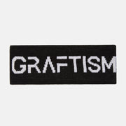GRAFTISM BLACK HEADBAND