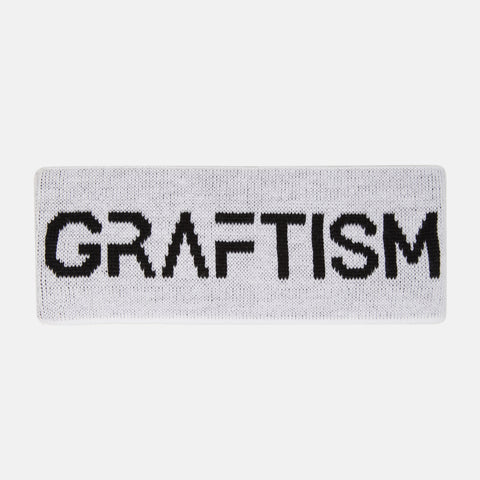 GRAFTISM OFF-WHITE HEADBAND