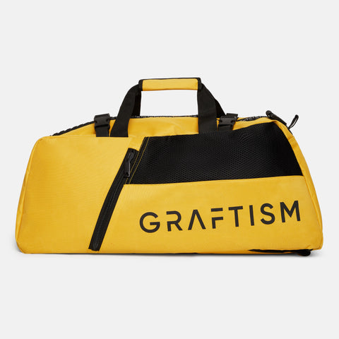 GRAFTISM GYM BAG - YELLOW
