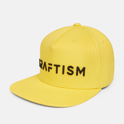 GRAFTISM Snapback Cap - Yellow