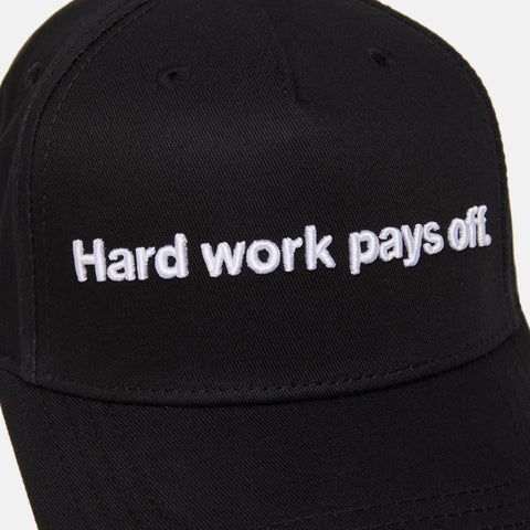 HARD WORK PAYS OFF BASEBALL CAP