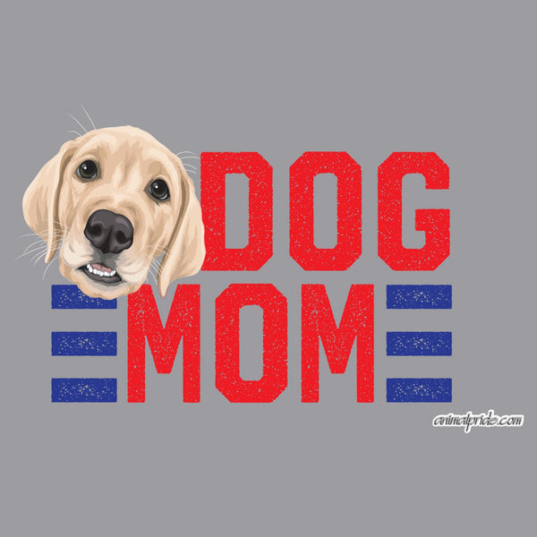 Red Dog Mom - Yellow Lab - Adult Adjustable Face Mask