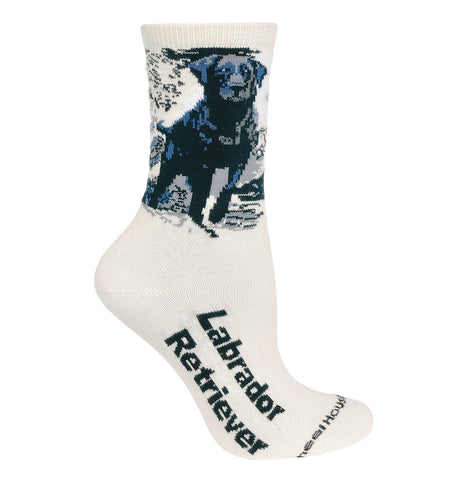 Black Lab - Natural Cotton Crew Socks