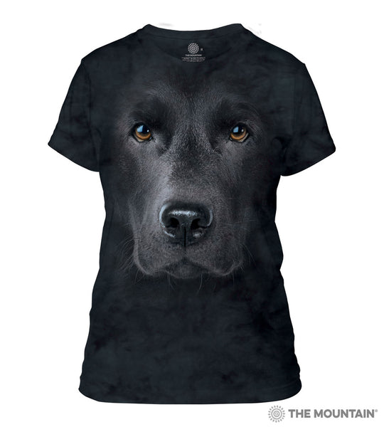Black Lab - Women's Fitted T-Shirt