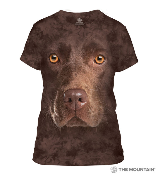 Chocolate Lab - Women's Fitted T-Shirt