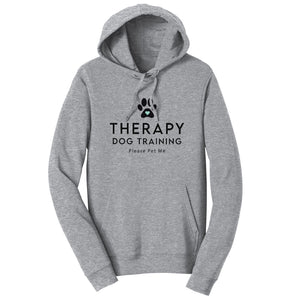 Therapy Dog Training - Adult Unisex Hoodie Sweatshirt