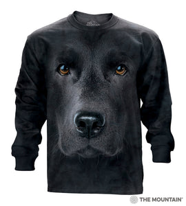Black Lab - Adult Unisex Long Sleeve T-Shirt