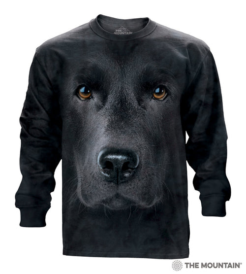 Black Lab - Adult Unisex Long Sleeve Shirt