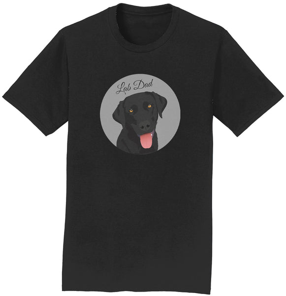 Labradors.com - Grey Spot Lab Dad - Tee Shirt