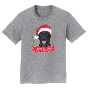 Happy Holidays Lab - Kids' Unisex T-Shirt