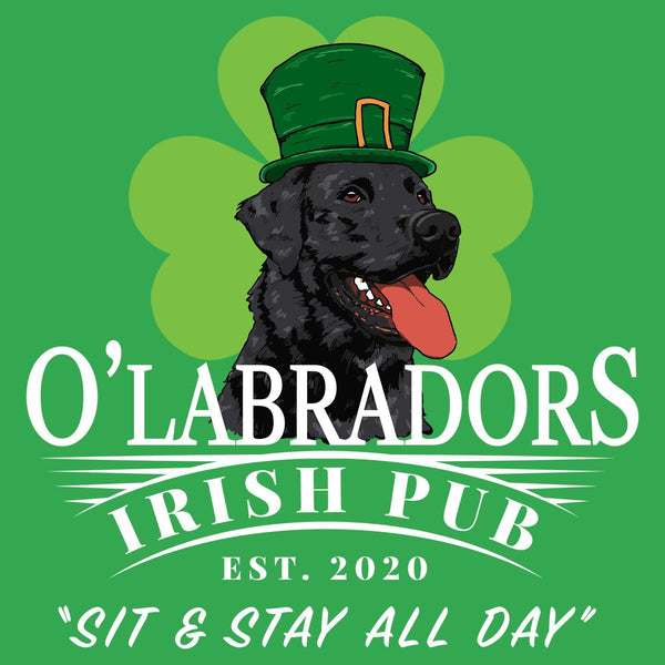 O'Labradors Irish Pub - Adult Unisex T-Shirt
