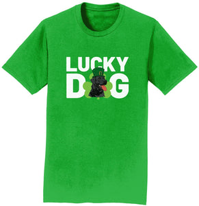 Lucky Dog - Lab - Adult Unisex T-Shirt