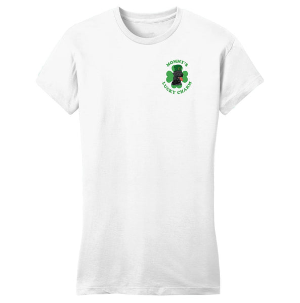 Mommy's Lucky Charm - Lab - Women's Fitted T-Shirt