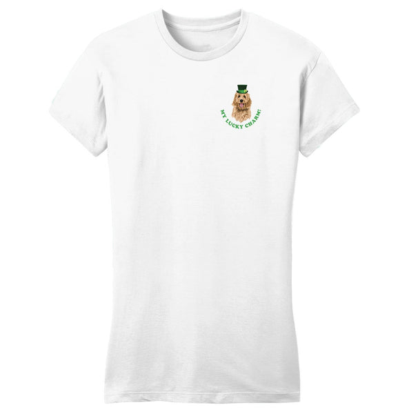 My Lucky Charm - Doodle - Women's Fitted T-Shirt